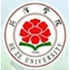 Heze University logo