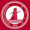 Hezhou University logo