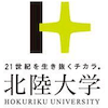Hokuriku University logo