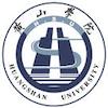 Huangshan University logo