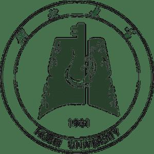 Hubei University logo