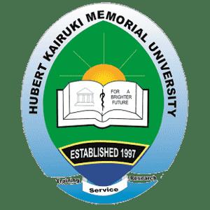 Hubert Kairuki Memorial University logo