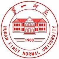 Hunan First Normal University logo