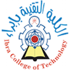 Ibra College of Technology logo