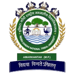 Indira Gandhi National Tribal University logo