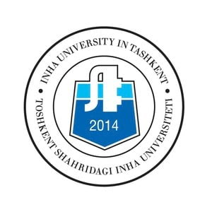Inha University in Tashkent logo