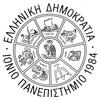 Ionian University logo