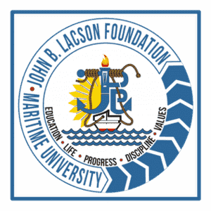 John B. Lacson Foundation Maritime University logo