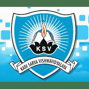 Kadi Sarva Vishwavidyalaya University logo