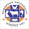 Kamdhenu University logo