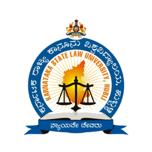 Karnataka State Law University logo