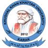 Khushal Khan Khattak University logo
