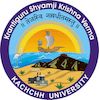 Krantiguru Shyamji Krishna Verma Kachchh University logo