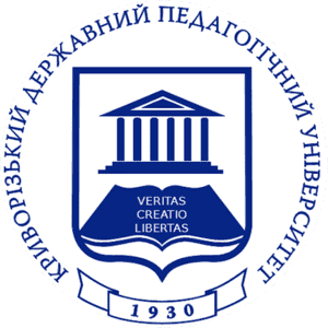 Kryvyi Rih State Pedagogical University logo
