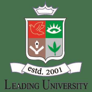 Leading University logo