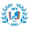 M.V. Lomonosov Moscow State University, Baku logo