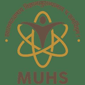 Maharashtra University of Health Sciences logo