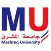 Mashreq University logo