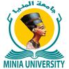 Minia University logo