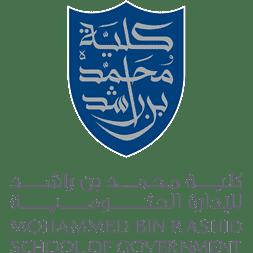 Mohammed Bin Rashid School of Government logo