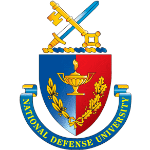 National Defense University logo
