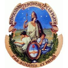 National University of La Plata logo