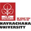 Navrachana University logo