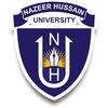 Nazeer Hussain University logo