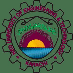 NED University of Engineering and Technology logo