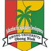 Obong University logo