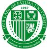 Our Lady of Fatima University logo