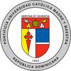 Pontifical Catholic University Madre y Maestra logo