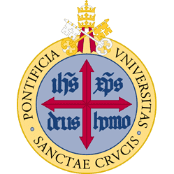 Pontifical University of the Holy Cross logo