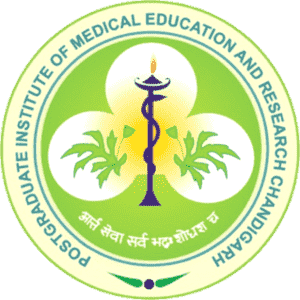 Post Graduate Institute of Medical Education and Research logo