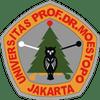 Prof Dr Moestopo University logo