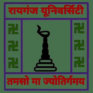 Raiganj University logo
