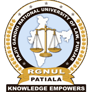 Rajiv Gandhi National University of Law logo