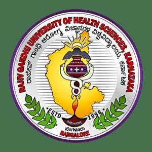 Rajiv Gandhi University of Health Sciences logo