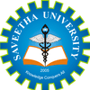 Saveetha University logo