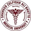 Shaheed Zulfiqar Ali Bhutto Medical University logo