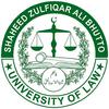 Shaheed Zulfiqar Ali Bhutto University of Law logo