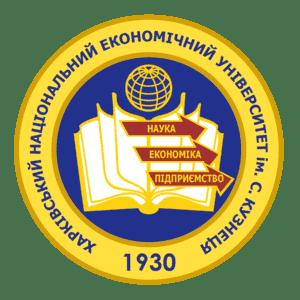 Simon Kuznets Kharkiv National University of Economics logo
