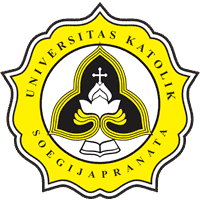 Soegijapranata Catholic University logo