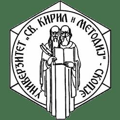 Ss. Cyril and Methodius University of Skopje logo