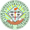 Tajik State University of Commerce logo
