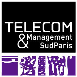 TELECOM and Management SudParis logo