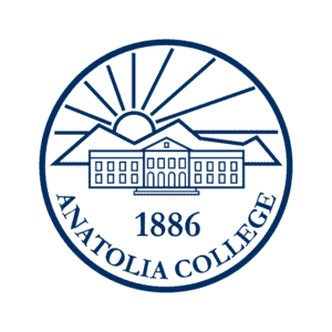 The American College of Thessaloniki logo