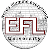 The English and Foreign Languages University logo