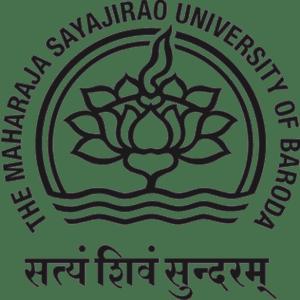 The Maharaja Sayajirao University of Baroda logo