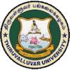 Thiruvalluvar University logo